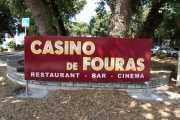 Bandeau ajouré textes lumineux casino fouras