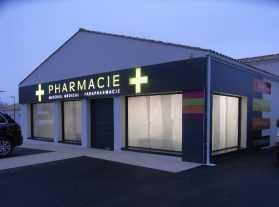 Façade pharmacie Arvert 17