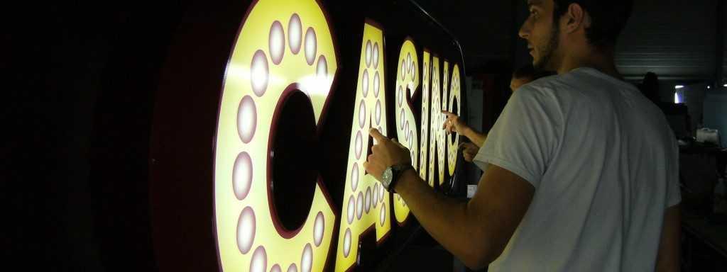 atelier Portique Casino Test d'éclairage
