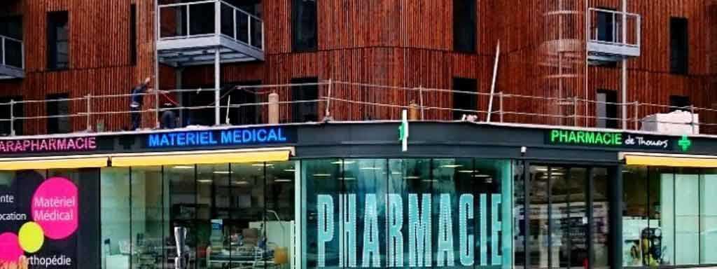 pharmacie croix diode