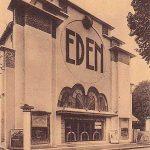 affiche cinéma eden st jean d'angely Enseigne Art Deco 1931