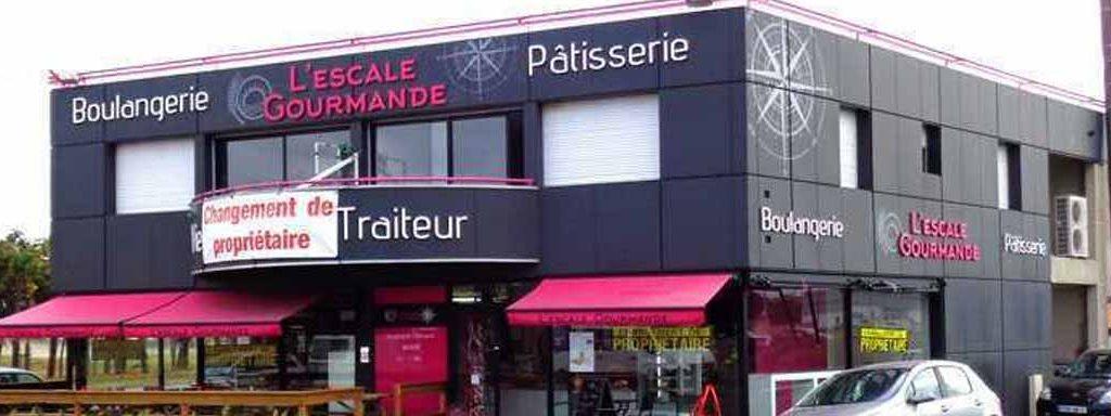 habillage facade boulangerie royan